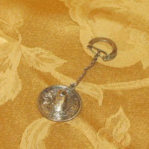 925 STERLING SILVER SOMRERO KEYCHAIN MEXICO HAT